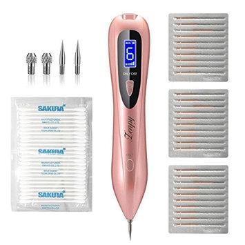 Zenpy Skin Tag Remover Pen 58 in 1 Professional Removal Tool Kit 6 Strength Levels Beauty Pen for Body Facial Freckle Nevus Warts Age Spot Skin Tag Tattoo Remover with LCD Display