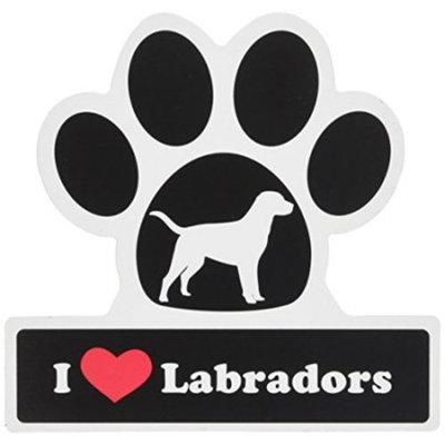 Smart Tag LittleGifts Car Magnet [Labrador]