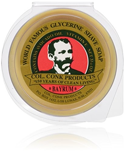Colonel Conk Products - Shave Bar Soap - Bay Rum