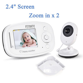 Fitnate Wireless Baby Monitor Night Vision 2.4