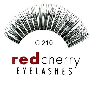 Color Eyelashes (with Silver Tinsel)