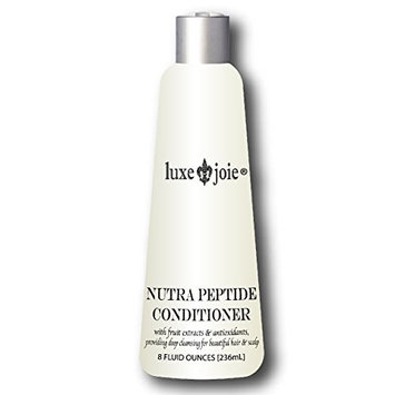 LuxeJoie Nutra Peptide Conditioner with Fruit Extracts & Antioxidants | Providing Deep Conditioning for Healthy Hair & Scalp