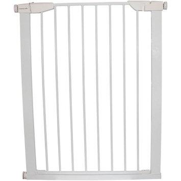 Cardinal Gates Extra Tall Premium Pressure Gate, White