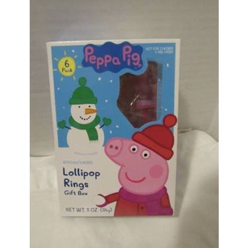 Peppa Pig Lollipop Ring Pops 6 Different Characters Party Favor