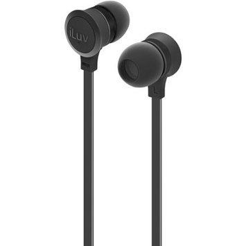 iLuv IEP334BLK Neon Sound Earphones Accs Black