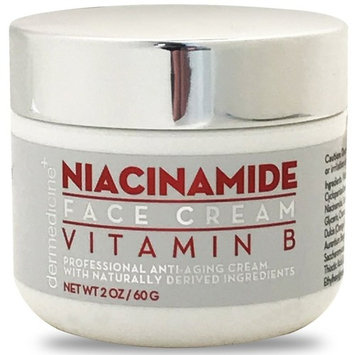 Natural Niacinamide Ultimate Strength Vitamin B Cream for Face | Nourishing Moisturizer w/ Vitamin B, Retinol, Grapeseed Extract, Hyaluronic Acid | Helps Smooth the...