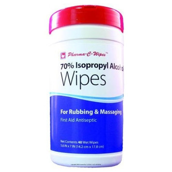 (CS) 70% Isopropyl Alcohol Wipes: Health & Personal Care