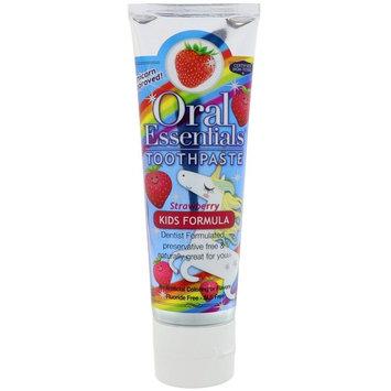 Oral Essentials, Toothpaste, Kids Formula, Strawberry, 3.75 oz (106.3 g)