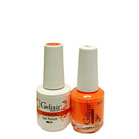 Gelixir matching color & nail laquer Coral -014