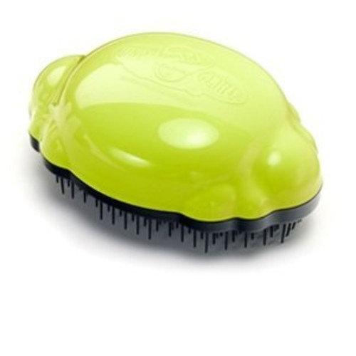 Knot Genie Hair Detangling Brush ~ Choose Color (Lovely Locks Lime)