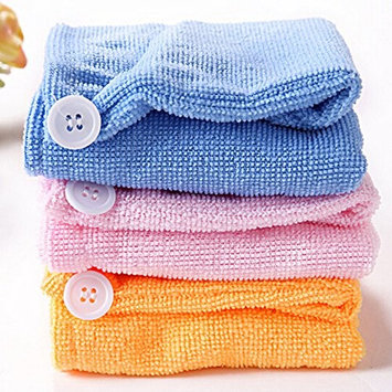 Quick-Drying Essential Hair Drying Head Towels (8 PACK)