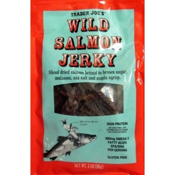 Trader Joe's Wild Salmon Jerky 3oz(85g)