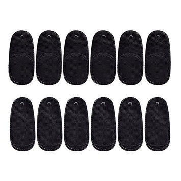 Mudder 12 Pieces Eye Patches Kids Eye Patch for Glasses for Lazy Eye Amblyopia Strabismus (Black)