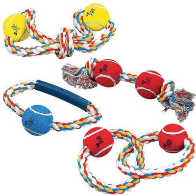 Petedge ZW801 15 Rope Toys wit