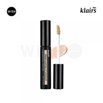[KLAIRS] Creamy& Natural Fit Concealer, concealer, foundation, liquid type, cream type, 6ml : Beauty