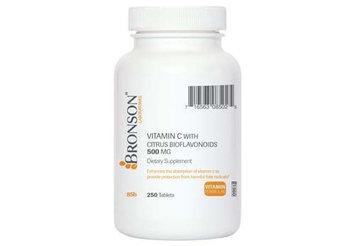 Bronson Vitamins Vitamin C 500 mg with Citrus Bioflavonoids