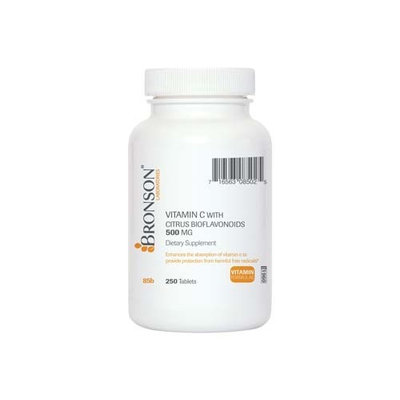 Bronson Vitamins Vitamin C 500 mg with Citrus Bioflavonoids