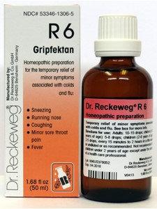 Gripfektan Formula R6 50ml by Dr. Reckeweg