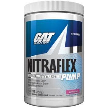 NITRAFLEX PUMP WATERMELON 420G - WATERMELON (14.8 Ounces Powder) by GAT at the Vitamin Shoppe