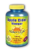 Apple Cider Vinegar 1,000 mg Nature's Life 250 Tabs