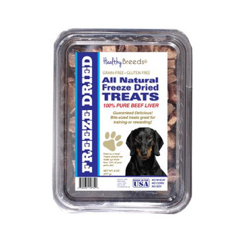 Healthy Breeds 840235148005 10 oz Dachshund All Natural Freeze Dried Treats Beef Liver