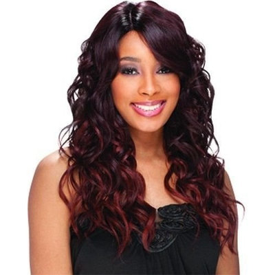 Freetress Equal Synthetic Lace Front Deep Invisible Part Wig - Bently-OMFIRERED