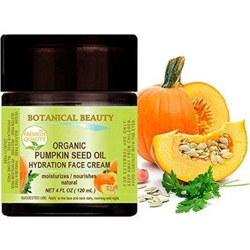 ORGANIC PUMPKIN SEED OIL HYDRATION FACE CREAM. For NORMAL to DRY SKIN.