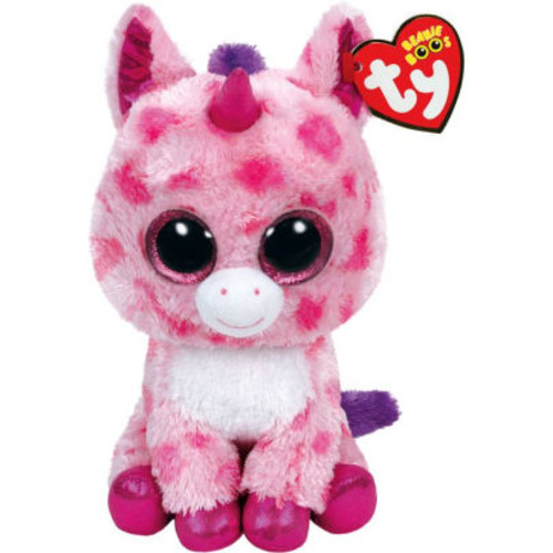 Ty Medium Sugar Pie Pink Unicorn Beanie Boo