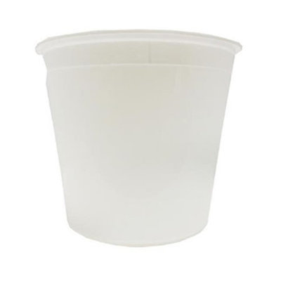 Plastic Packaging L168030105 CPC 16 oz Natural Tub - White Case of 100