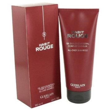 Guerlain Habit Rouge By Guerlain For Men Hair & Body Shower Gel 6.8 Oz
