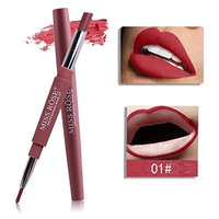 Yoyorule MISS ROSE 8 Color Double-end Lasting Lipliner Waterproof Lip Liner Stick Pencil