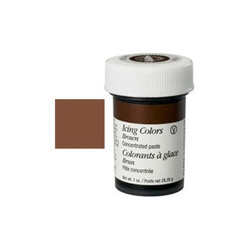 Wilton W610-507 Icing Colors, 1-Ounce, Brown