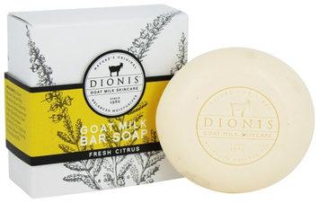 Dionis Goat Milk Skincare - Bar Soap Fresh Citrus - 2.8 oz. (Pack of 2)