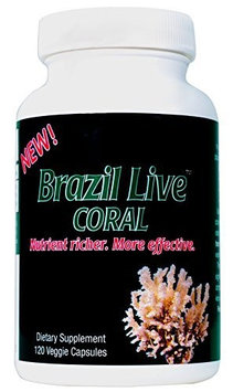 Best Coral Calcium Supplement Cold Press Brazil Live Calcium Capsules, 40 Day Supply, Includes Mag