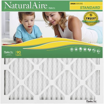 Naturalaire 16X25X1Pleat Fur Filter, Pack of 12