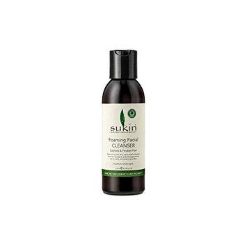 Sukin Foaming Facial Cleanser (Cap) 125ml (Pack of 4)