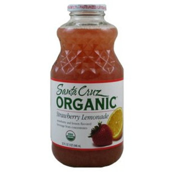 Santa Cruz: Organic Strawberry Lemonade (2 X 32 FL OZ)