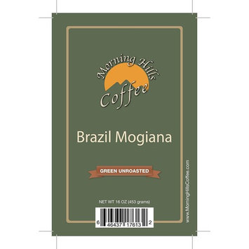 2 Pounds Brazil Mogiana Green Unroasted Coffee Beans
