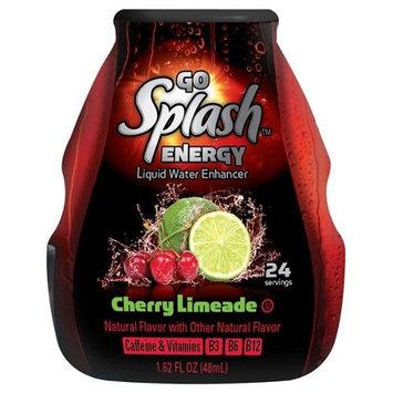 Go Splash Energy Liquid Water Enhancer, Cherry Limeade, 1.62 fl oz