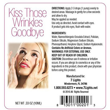 Kiss Those Wrinkles Goodbye