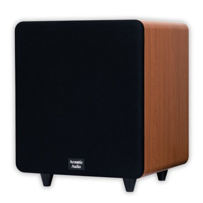 Acoustic Audio Cinema CS-PS10-C 400 Watt 10 Powered Subwoofer Home Theater Sub