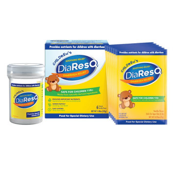 Pantheryx Childrenâ s DiaResQ Soothing Recovery, Natural Diarrhea Relief, Antidiarrheal for Kids Ages 1 and up, Fast Acting with Delicious Taste and Relieving Results, 6 Count