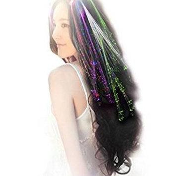 Demarkt 10Pcs Multicolor LED Flashing Hair Braid Clip Led Hair Lights Party Supplies