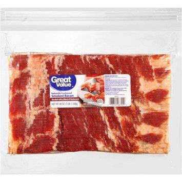 Great Value Original Bacon, 48 oz