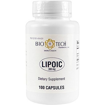 BioTech Pharmacal - Lipoic Acid (300mg) - 100 Count