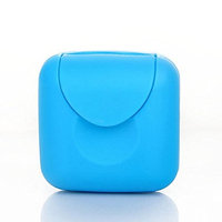 2Pieces Mini Small Plastic Travel Buckle Lid Portable Soap Case Holder Container Box Home Outdoor Hiking Camping Travel Portable Tools