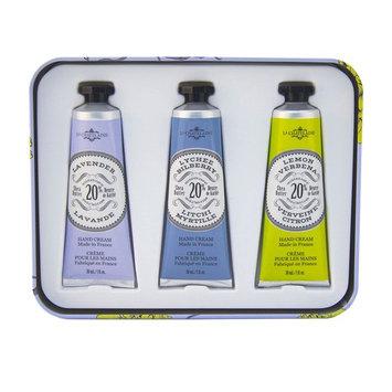 La Chatelaine, Hand Cream Trio, Lavender, 3 - 1 fl oz (30 ml) Each [Scent : Lavender]