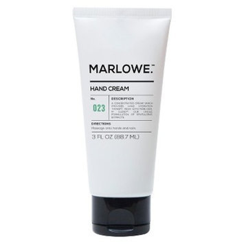 Marlowe. No. 023 Hand Cream 3 oz