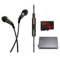 Klipsch X20i Earbuds w/ Mic & Playlist Control w/ Apple Controls - Fiio E12 AMP Bundle