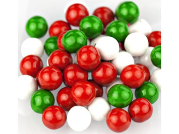 Beulah's Candyland Sixlets Christmas Mix candy coated chocolate 4 pounds